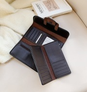 Long Wallet Female Personality Leather Clutch