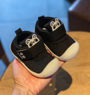 Velcro Baby Flying Knit Shoes For Boys And Girls