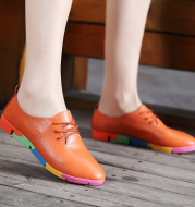 Women's Single Shoes Korean Nurse Shoes Women Casual Shoes White Shoes