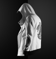 Autumn And Winter Personality Design Fashion Casual Hooded Men