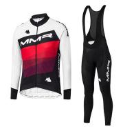Winter Fleece Long Sleeve Cycling Suit