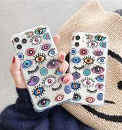 Personality Eye Transparent Anti-drop Mobile Phone Case