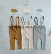 Spring And Autumn Men's And Women's Baby Leggings Adjustable Strap Trousers