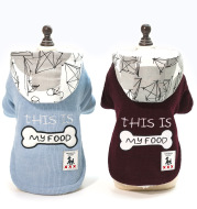 Thickened Warm, Hooded, Padded Clothes For Pets