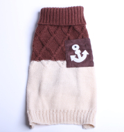 Dog Clothes Autumn And Winter Cat Clothes Ladies Wool Sweater Skirt