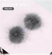 Nail Art Accessories Removable Hair Ball Nail Polish Glue DIY Decoration