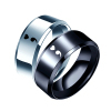 Semicolon Charm Ring Mental Health Gift Ring Titanium Steel Ring