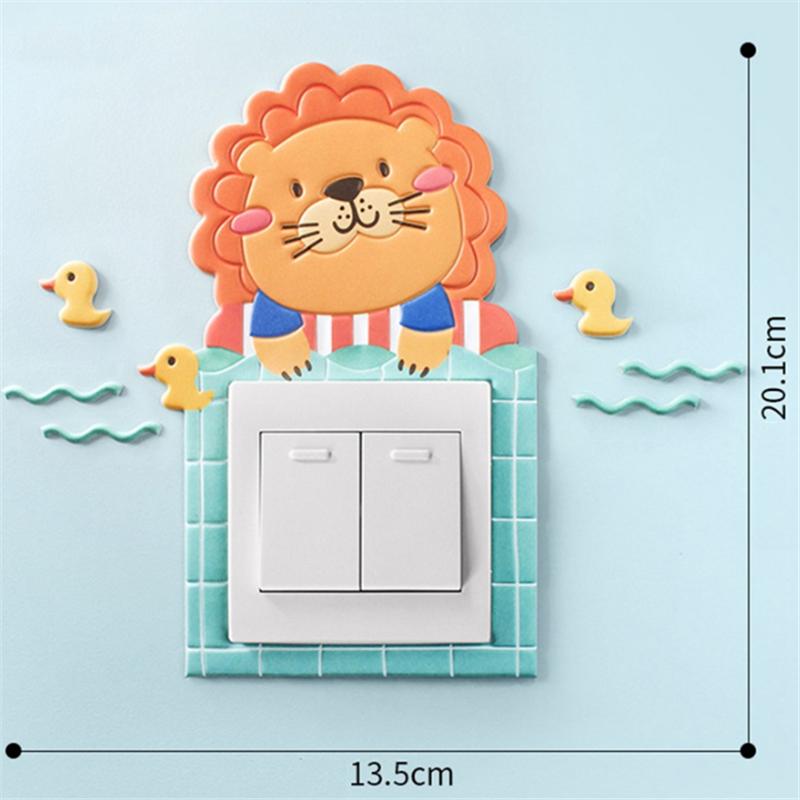Girls Boys Cartoon 3D Kids-Book