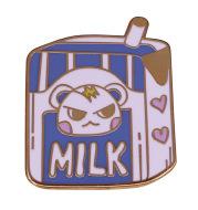 Animal Crossing Cute Villager Xiaorun Milk Brooch