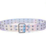 Europe And The United States Versatile Trend Men's And Women's Double Eye Belt