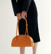 All-match Semi-circular Fashion Large-capacity Shoulder Handbag