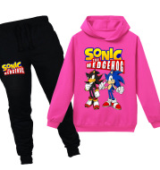 Children's Long-Sleeved Sweater Suits, Large Children's Clothing
