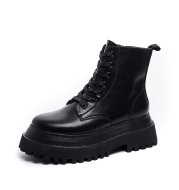 Autumn All-match Single Boots Thick-soled Increase Martin Boots