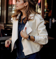 Autumn And Winter New Products Women's Leather Jackets