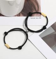 Customized Name Bracelet Eternal Love Magnet Staniless Steel Couples Bracelet