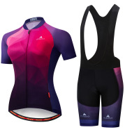 Cycling Wear Strap Short Sleeve Suit Wicking Breathable Bicycle Breathable Thin Section