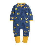 Foot-Wrapped Climbing Suit Newborn Jumpsuit