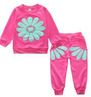 Children's Suit Sun Flower 2-Piece Set