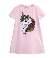 Girls Dress Summer Korean Edition Cartoon Cotton Skirt