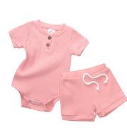 Baby One-Piece Pyjama Shorts Set