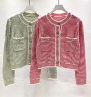 New Round Neck Temperament Ladies Sweater Short Coat Trend