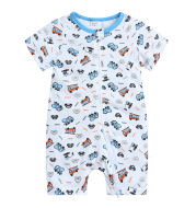Newborn Baby Romper Baby Onesies Summer Baby Short-Sleeved Romper