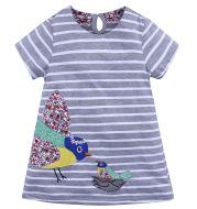 Printed Girls' Dresses, Children's Short Skirts
