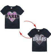 Short-sleeved T-shirt For Middle And Small Children Cartoon Top