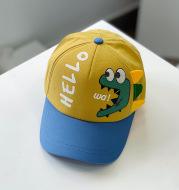 Children's Cartoon Color Matching Baseball Cap