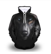 WOLVES - Stijlvolle En Warme Hoodie ANIMAL STYLE