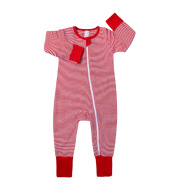 Baby Clothes Korean Style Baby Men And Women Baby Striped Soft Bodysuit