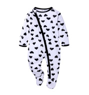 Baby Double Zipper Baby Long Sleeved Climbing Spring Jacket