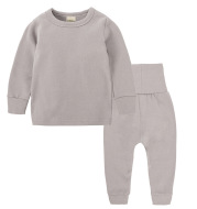 Children's Pajamas In Thickened Autumn Clothes And Trousers