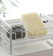 Household Rack Kitchen Sponge Pot Brush Drain Basket Scouring Pad Kitchen Gadgets Drying Creative Rack Shelf