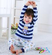 Children's Home Wear Long Sleeve Baby Thermal Pajamas Baby Underwear Set