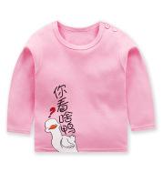Children's Long-Sleeved T-shirt, Cotton Sweater, Girl's One-Piece Top