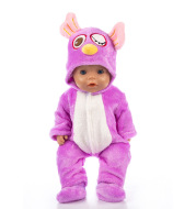 Cartoon Animal Doll Clothes With Children's Clothing