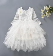Girls Dress Lace Tutu Skirt Flower Girl Dress Princess Dress