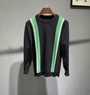 Long Sleeve Casual Round Neck Pullover Youth Knit Bottoming Sweater