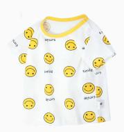 Children's Clothing Baby T-shirt Short Sleeve Single Jersey Top