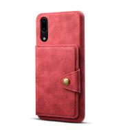 Simple Imitation Cowhide Pattern Magnetic Buckle Flip Phone Back Cover