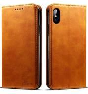 Retro Calfskin Phone Holster Flip Protective Cover