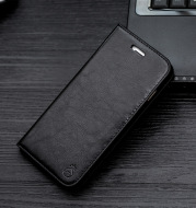 Leather Phone Case Apple Flip Holster Cover