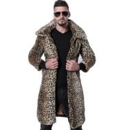 Men's Fur Coat Imitation Fox Fur Large Size Coat Trench Coat Faux  Coat New