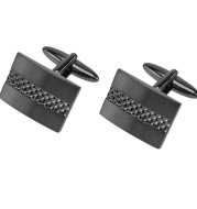 Metal Copper Men's French Shirt Square Cufflinks