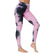 Yoga Jacquard Tie-Dye Yoga Clothes Bubble Yoga Pants