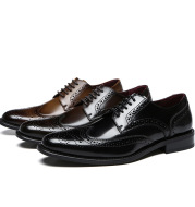 Genuine Leather Business Casual Dress British Style Leather Shoes