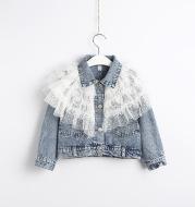 Children's Denim Jacket Autumn And Winter Girls