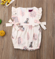 Girls Cotton  Romper For Baby Sleepwear Creepers Jumpsuit