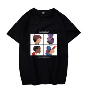 European and American TV Series Casual Loose T-shirt Men and Women